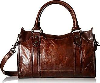 Frye Melissa Satchel Handbag,Dark Brown,One Size