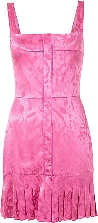 Alexis Vestido Alys com estampa abstrata - Rosa