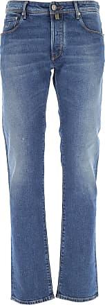 Jacob Cohen Jeans, Bluejeans, Denim Jeans für Herren Günstig im Outlet Sale, Medium Denim Blau, Baumwolle, 2019, 46 48 49 50 52 54
