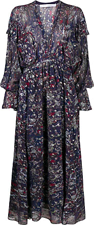 Iro abstract print maxi dress - PURPLE