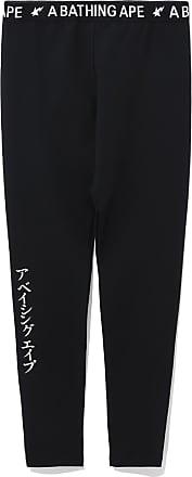 A Bathing Ape Bape Katakana Print leggings
