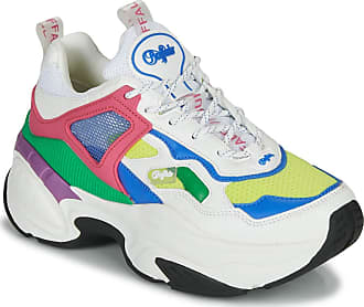 Buffalo Crevis Crazy P3 Textile Leather - Multicolor - Womens Trainers (Numeric_6_Point_5)