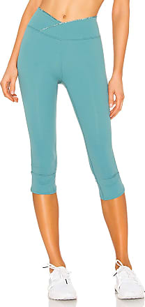 Free People Movement Mid Rise Get Shorty Legging in Turquoise