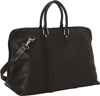 Royce Leather Luxury Weekender Duffel Bag - Color: Black