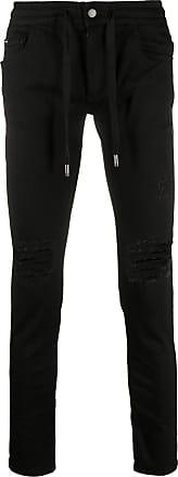Dolce & Gabbana Calça jeans skinny com ajuste no cós - Preto