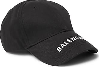 62777c96362 Balenciaga Logo-embroidered Cotton-twill Baseball Cap - Black