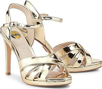 4b7bcdd2d591ff Buffalo High-Heel Evangelina in gold