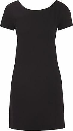 Theory Theory Woman Crepe Mini Dress Black Size 2