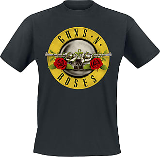 Guns n' Roses Distressed Bullet - T-Shirt - schwarz