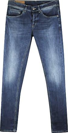 Dondup Jeans George Uomo in Cotone blu Medio UP232DS0257U Azzurro 38