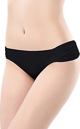 SHEKINI Damen Einfarbig Bikini Bottom Weibliche Badehose Brazilian Style Elastische Bikinihosen Bikini Slip Bikini Unterteile Bikini Shorts