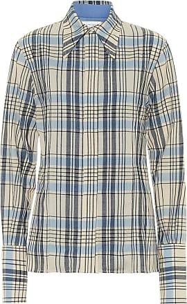 Victoria Beckham Checked virgin wool shirt