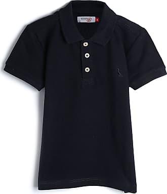 Reserva Mini Camisa Polo Reserva Mini Infantil Lisa Azul-Marinho