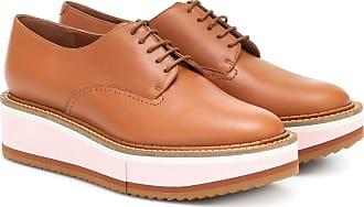 Robert Clergerie Berlin leather platform Derby shoes