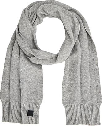 BOSS Mens Kotaren Scarf, Grey (Light/Pastel Grey 051), One (Size: STÜCK)