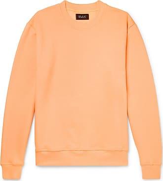 dabccd0e5ddfa3 Howlin Fleece-back Cotton-jersey Sweatshirt - Orange