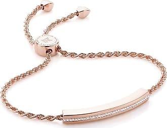 Monica Vinader Linear Chain Diamond bracelet - GOLD