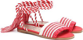 Red Valentino Sandalen aus Raffiabast