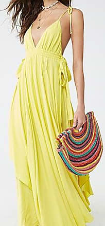 Forever 21 Forever 21 Cami Maxi Dress Yellow
