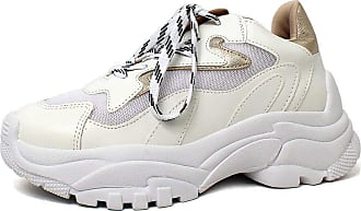 Damannu Shoes Tênis Chunky Kenzie - Cor: Branco - Tamanho: 39