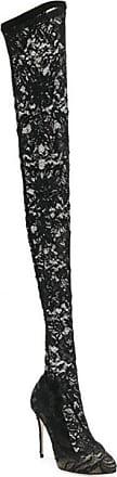 Dolce & Gabbana 10cm Lace Over the Knee Boots Größe 36