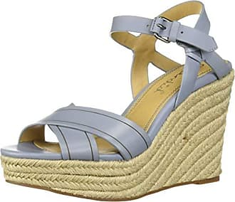 Splendid Womens Taffeta Sandal Light Blue 6 M US