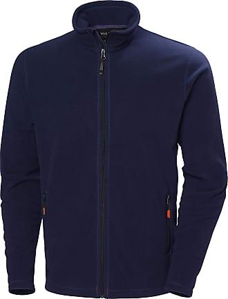 Helly Hansen Mens Workwear Navy Oxford Light Fleece Full Zip Jacket 72097-L