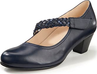 Gabor 91-270 Schuhe Damen Microvelour Plateau Pumps Weite F