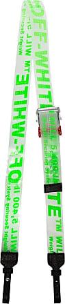 Off-white clear parcel tape PVC belt strap - Green