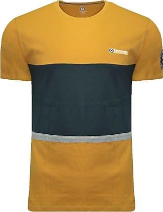 Lambretta Mens Northern Soul Classic Ska Casual Tee T-Shirt 3XL Gold