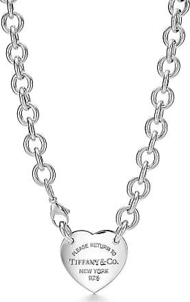 Tiffany & Co. Return to Tiffany heart tag necklace in sterling silver, 15.5