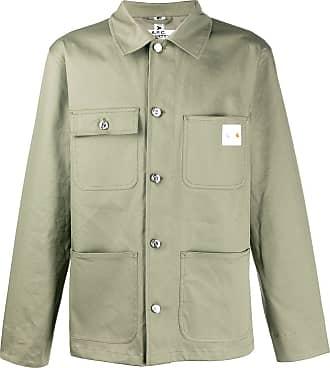 A.P.C. Camisa militar A.P.C X Carhartt - Verde