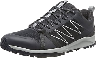 The North Face The North Face Mens M Litewave Fastpack II Low Hiking Boots, Grey (Ebony Grey/High Rise Grey C41), 6.5 UK (40 EU)