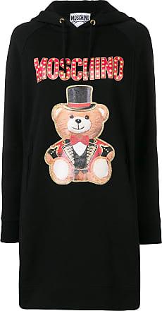 Moschino Teddy Circus hoodie dress - Black