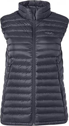 RAB Womens Microlight Vest Gilet in piumino Donna | nero/grigio