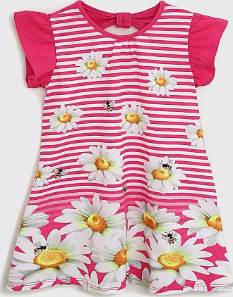 KYLY Vestido Kyly Infantil Floral Rosa