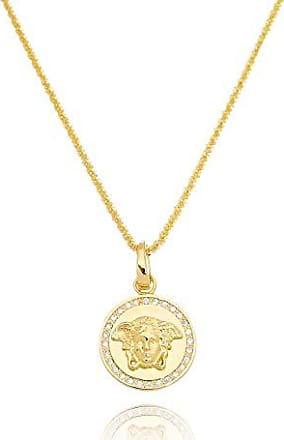 Lua Mia Semijoias Colar Medusa Com Zircônias Cravejadas - Semijoia Folheada a Ouro Lua Mia Joias