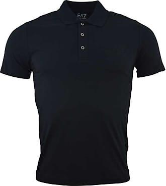 Emporio Armani T-shirt Polo Uomo 8NPF01 NERO