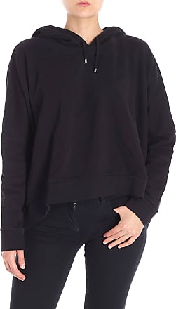 7 For All Mankind Black overfit hoodie