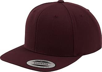 Yupoong Mens The Classic Premium Snapback Cap (One Size) (Maroon/Maroon)