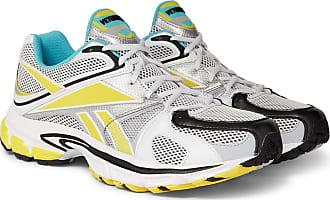 VETEMENTS + Reebok Runner 200 Rubber-trimmed Mesh Sneakers - White
