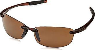 Revo Womens Edge Sunglasses Shield Black 72 mm