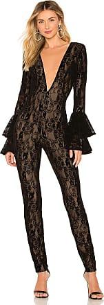 Michael Costello x REVOLVE Kalista Jumpsuit in Black