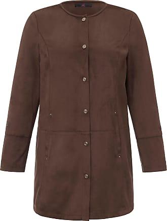 Emilia Lay Faux leather jacket Emilia Lay brown