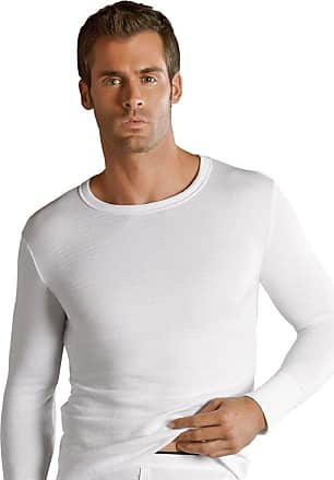 Jockey Mens Thermal Long Sleeved Undershirt (Navy/XXL)