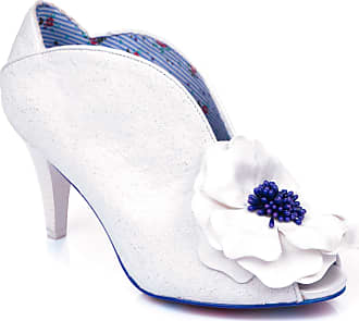 Irregular Choice Marry Me Womens Wedding Court Shoes (White (White A), Numeric_7_Point_5)