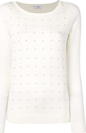 Akris bead embellished knitted top - White