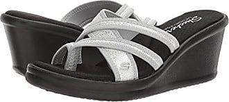 7d6fb3a64a16 Skechers Cali Womens Rumblers - Happy Dayz Wedge Sandal