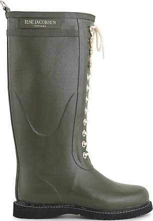 Ilse Jacobsen Isle Jacobsen Rubber, Womens Wellington Boots, Green (Army), 8.5 UK (41 EU)