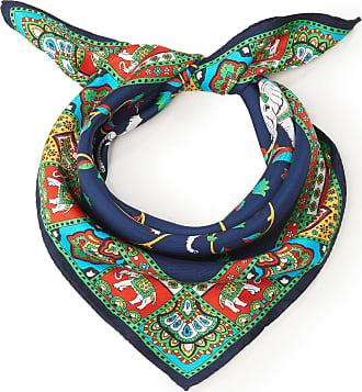 Roeckl Velour scarf made of 100% silk Roeckl blue